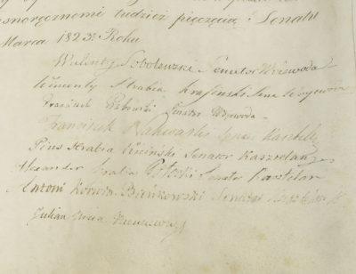 Lettres patentes polonaises - Patrimoine Charles-André COLONNA WALEWSKI, en ligne directe de Napoléon
