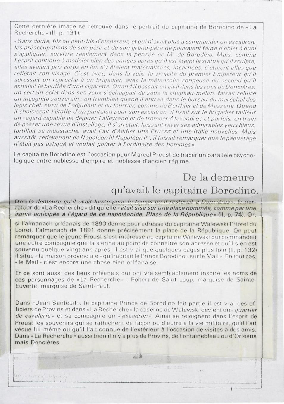 Lettre de René Berthelot à Charles-André Walewski - Patrimoine Charles-André COLONNA WALEWSKI, en ligne directe de Napoléon