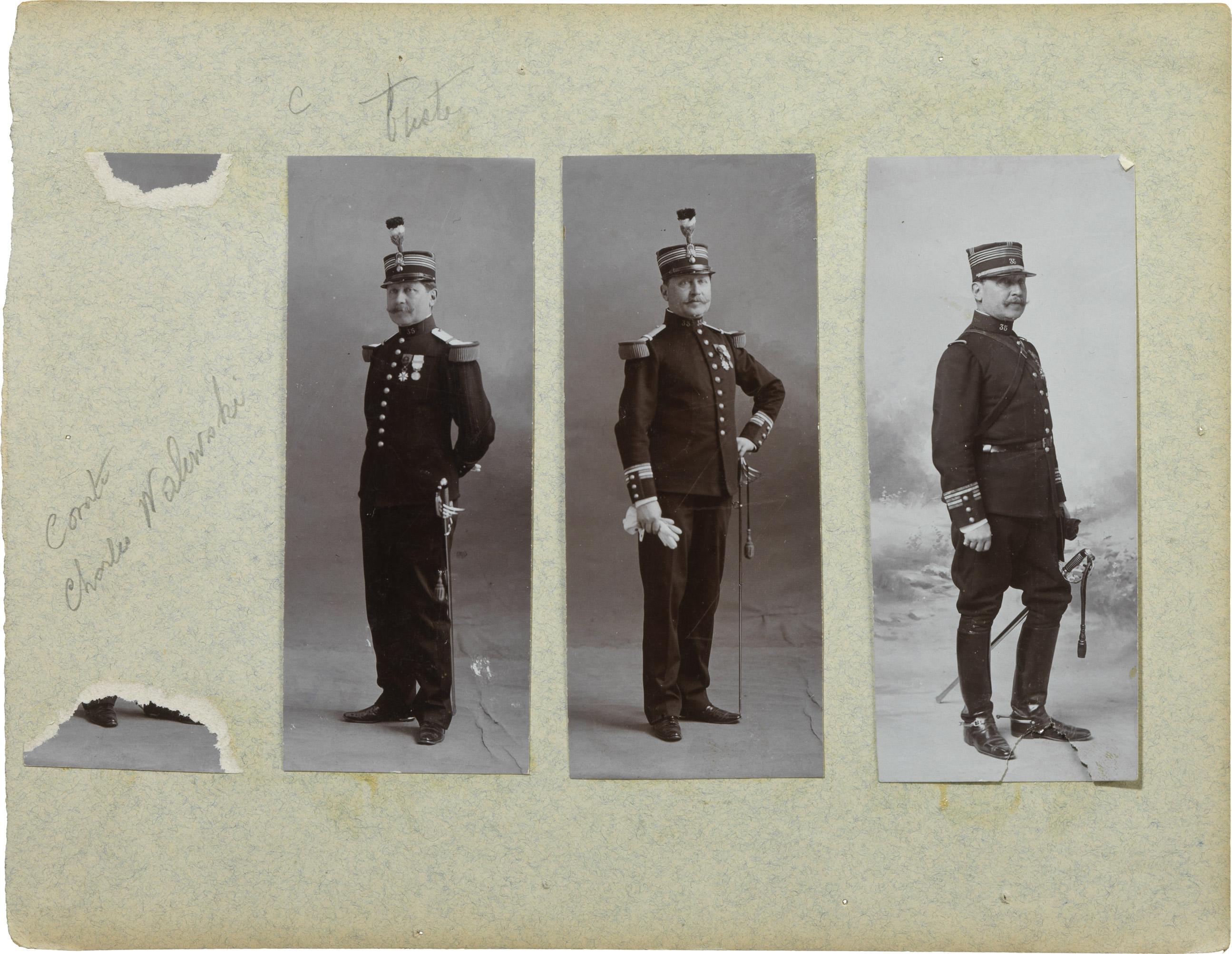 Photographies de Charles Walewski - Patrimoine Charles-André COLONNA WALEWSKI, en ligne directe de Napoléon