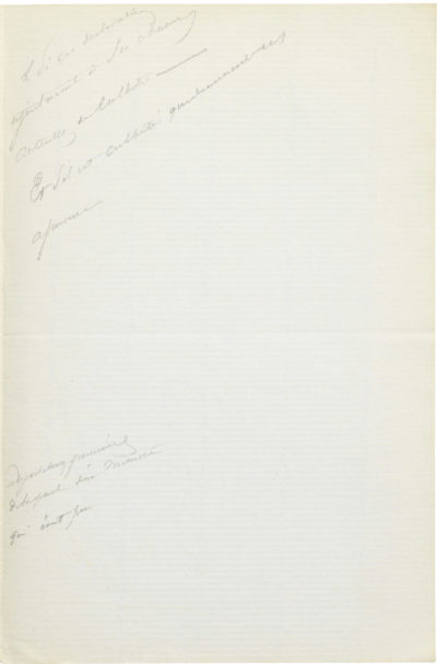 Lettre d'Alexandre I Walewski à Pélissier - Patrimoine Charles-André COLONNA WALEWSKI, en ligne directe de Napoléon