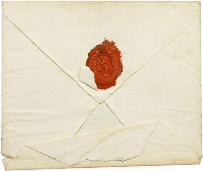 Lettre de Napoléon à Marie Walewska - Patrimoine Charles-André COLONNA WALEWSKI, en ligne directe de Napoléon