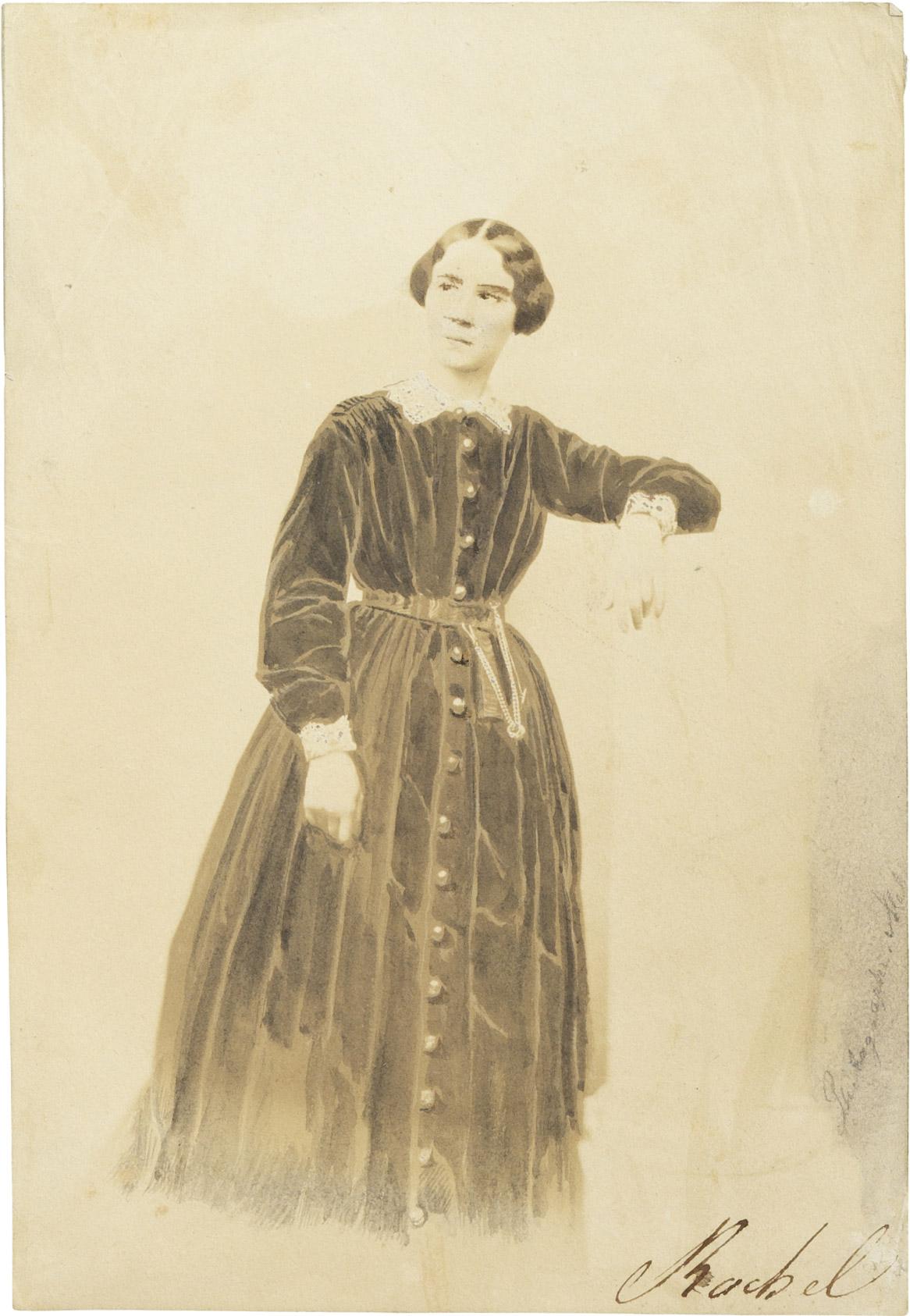 Portrait de Rachel - Patrimoine Charles-André COLONNA WALEWSKI, en ligne directe de Napoléon