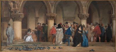Mathilde, Princesse BONAPARTE (1820-1904) Bal costumé à la cour d'Henri III