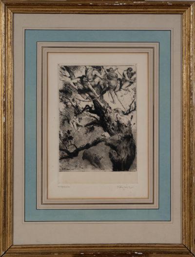 La chasse à l'ours par Emile Friant