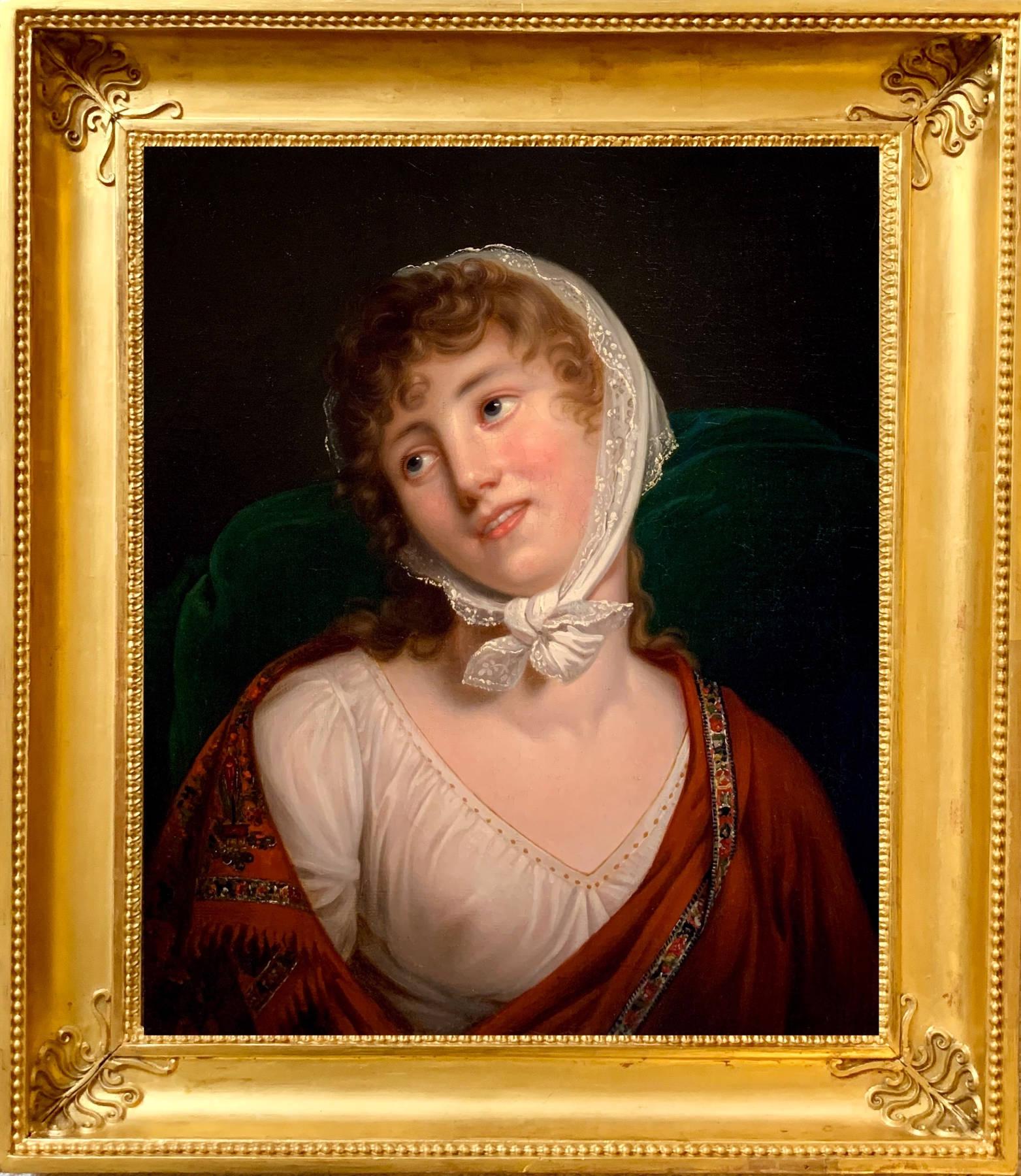 Portrait de Marie Walewska par Robert Lefevre