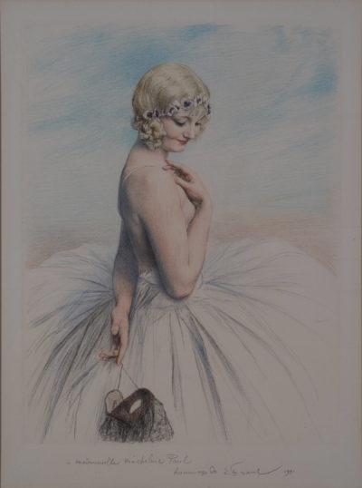 Jeune fille en tutu par Emile Friant