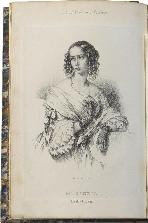 """""""Les belles femmes de Paris"""" - Patrimoine Charles-André COLONNA WALEWSKI, en ligne directe de Napoléon"""