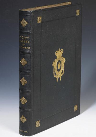 """""""Rachel et la tragédie"""", exemplaire de Napoléon III - Patrimoine Charles-André COLONNA WALEWSKI, en ligne directe de Napoléon"""