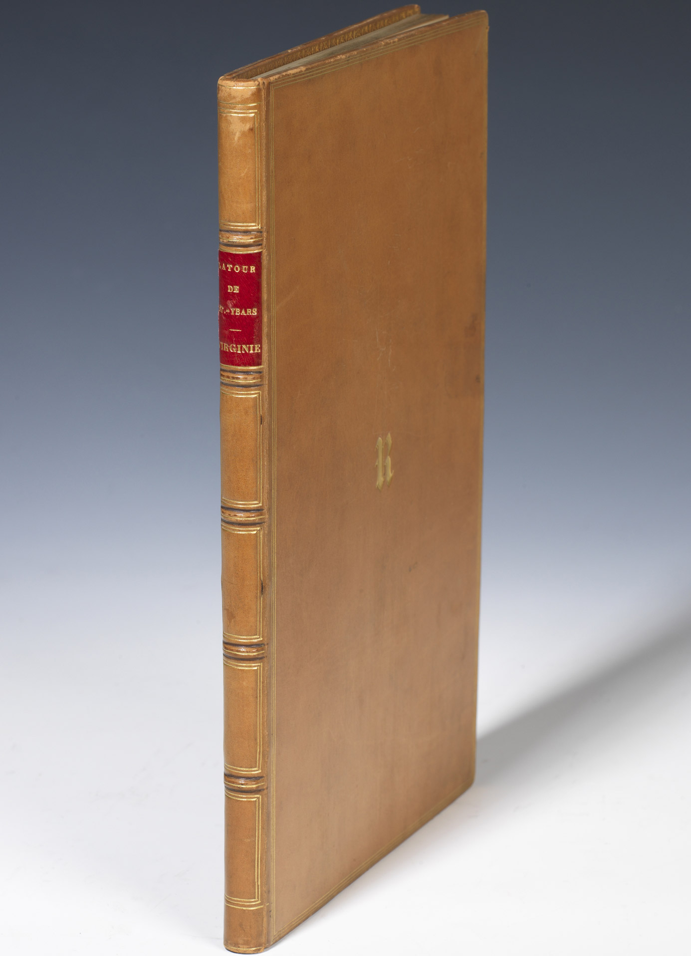 """""""Virginie"""" relié au chiffre de Rachel - Patrimoine Charles-André COLONNA WALEWSKI, en ligne directe de Napoléon"""