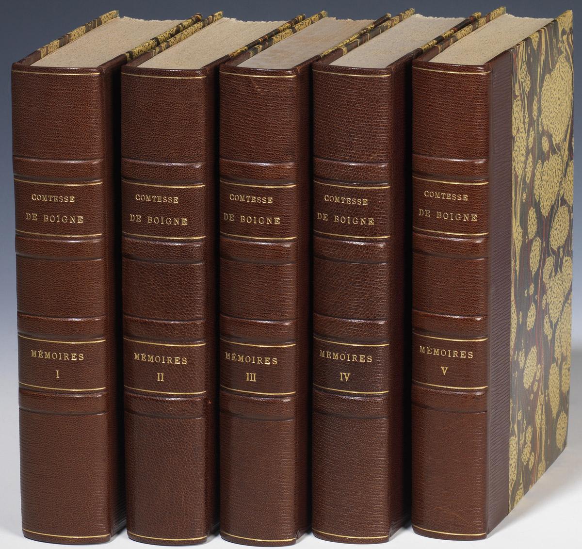 Mémoires de la comtese de Boigne - Patrimoine Charles-André COLONNA WALEWSKI, en ligne directe de Napoléon