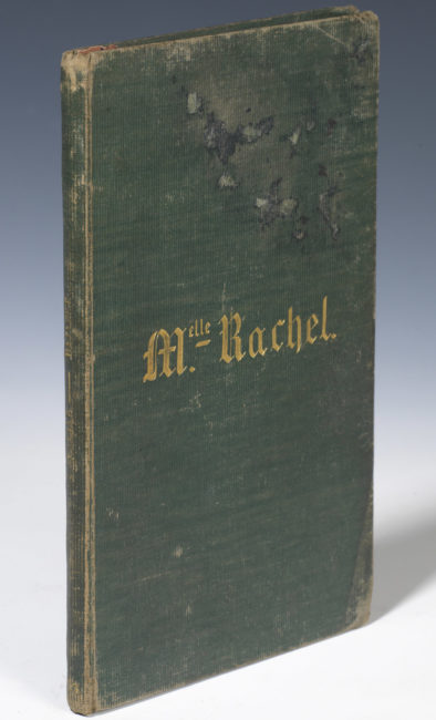 """""""Bajazet"""" de Racine, exemplaire de Rachel - Patrimoine Charles-André COLONNA WALEWSKI, en ligne directe de Napoléon"""