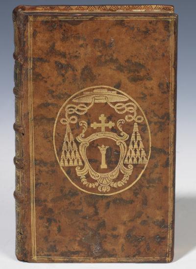 Livre aux armes du Cardinal Colonna - Patrimoine Charles-André COLONNA WALEWSKI, en ligne directe de Napoléon