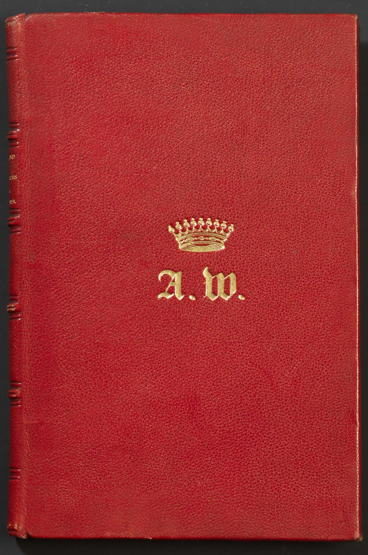 Reliures au chiffre d'Alexandre Colonna Walewski - Patrimoine Charles-André COLONNA WALEWSKI, en ligne directe de Napoléon