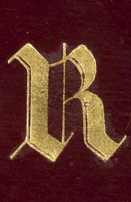 Oeuvres de Goethe de la bibliothèque de Rachel - Patrimoine Charles-André COLONNA WALEWSKI, en ligne directe de Napoléon