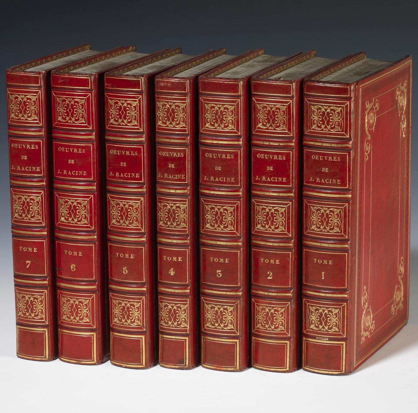 Oeuvres de Racine ayant appartenu à Rachel - Patrimoine Charles-André COLONNA WALEWSKI, en ligne directe de Napoléon