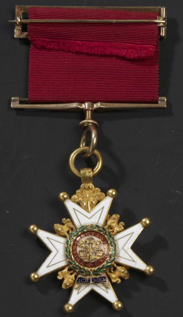 Ordre du Bain (Grande-Bretagne) - Patrimoine Charles-André COLONNA WALEWSKI, en ligne directe de Napoléon
