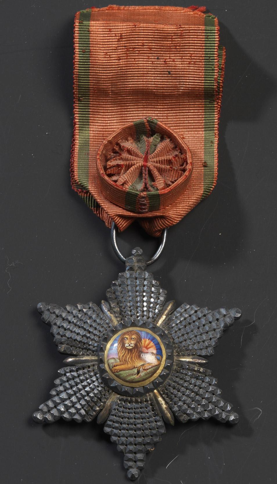 Ordre du lion et du soleil (Perse) - Patrimoine Charles-André COLONNA WALEWSKI, en ligne directe de Napoléon