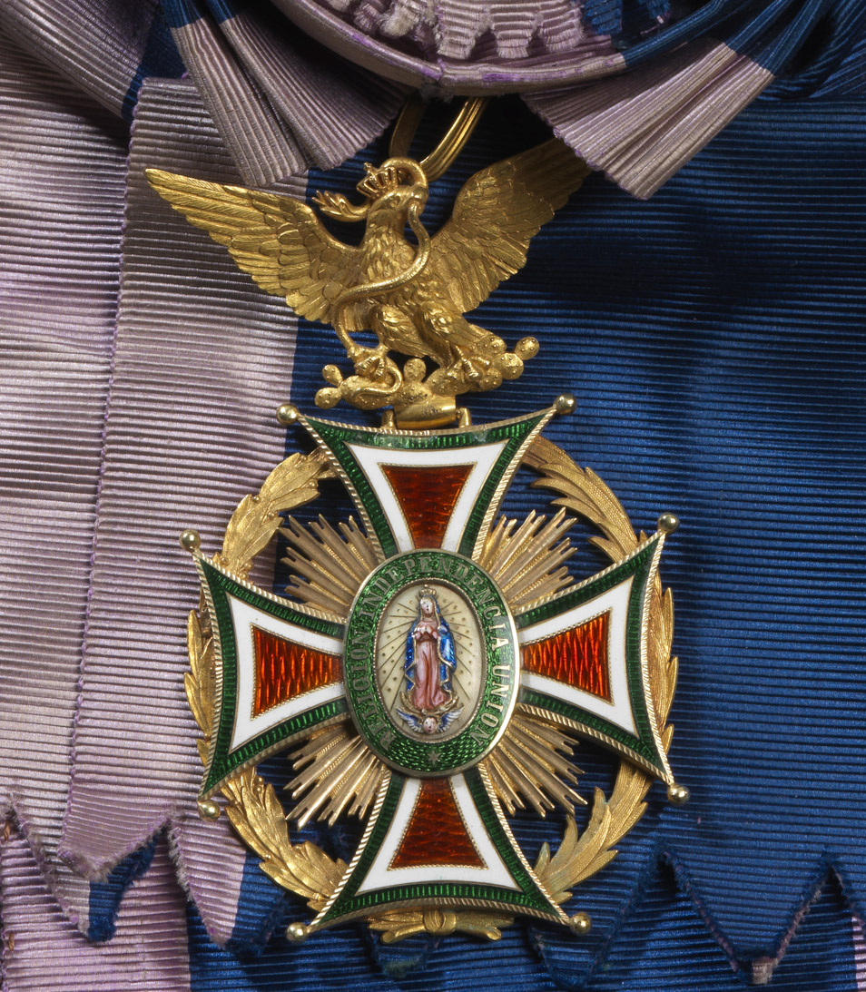Ordre de la Guadalupe (EMPIRE DU MEXIQUE) - Patrimoine Charles-André COLONNA WALEWSKI, en ligne directe de Napoléon