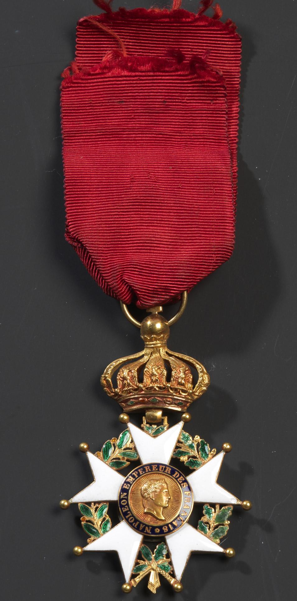 Étoile de Chevalier de la Légion d'Honneur - Patrimoine Charles-André COLONNA WALEWSKI, en ligne directe de Napoléon