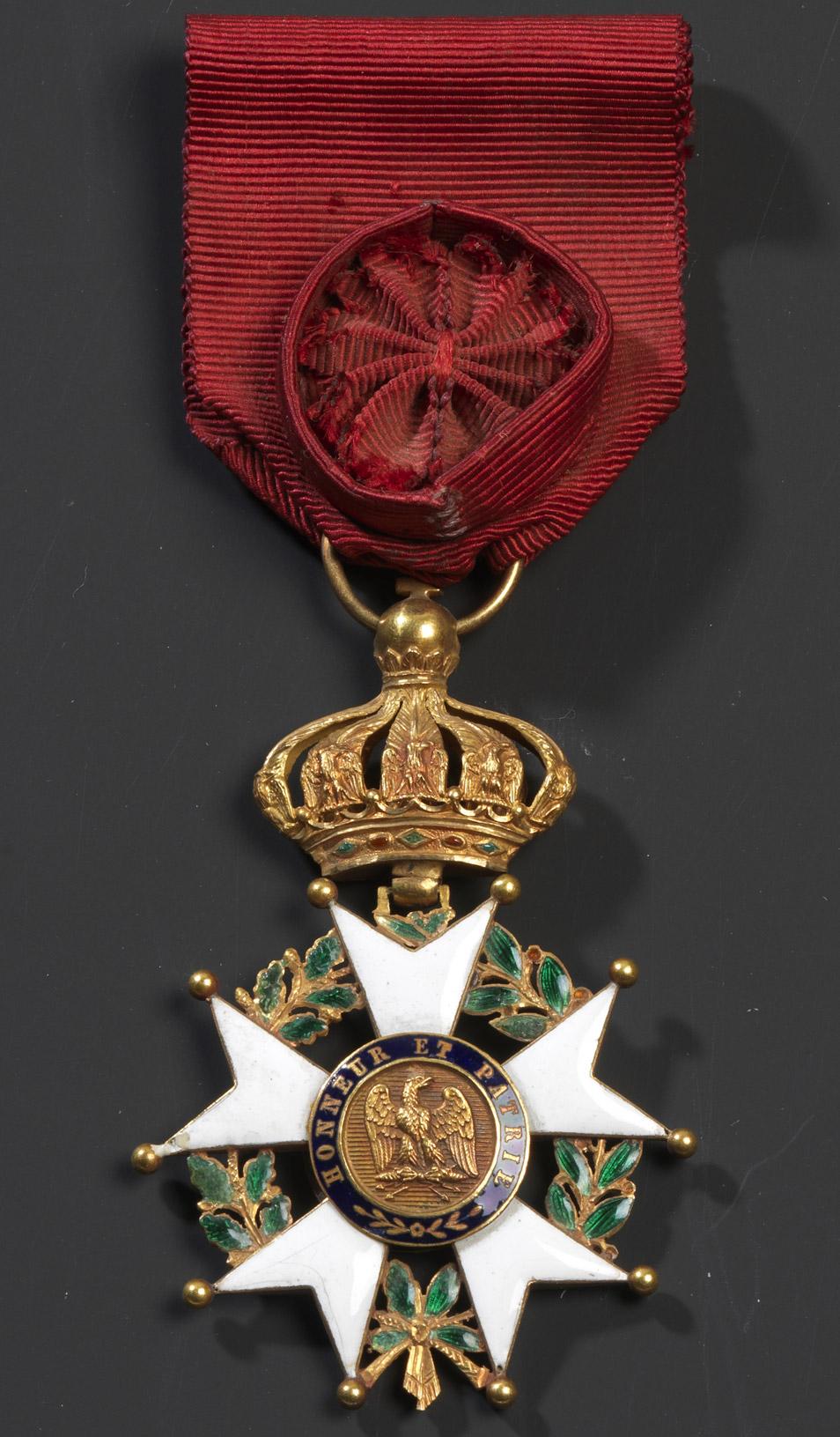 Étoile d'Officier de la Légion d'Honneur - Patrimoine Charles-André COLONNA WALEWSKI, en ligne directe de Napoléon
