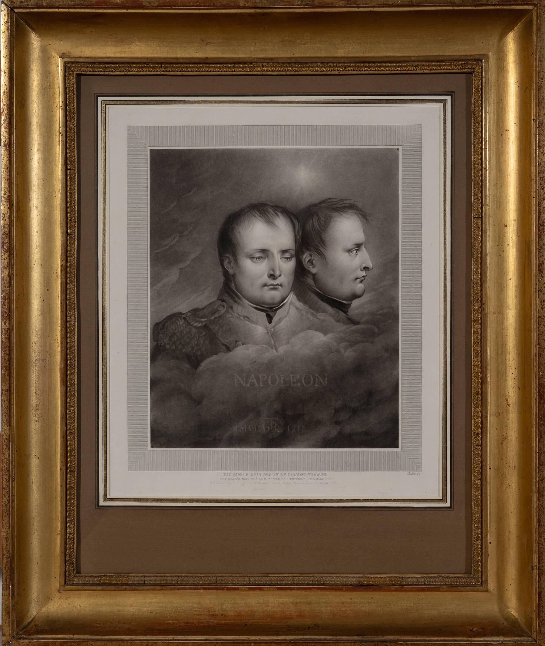 Napoléon de face et de profil