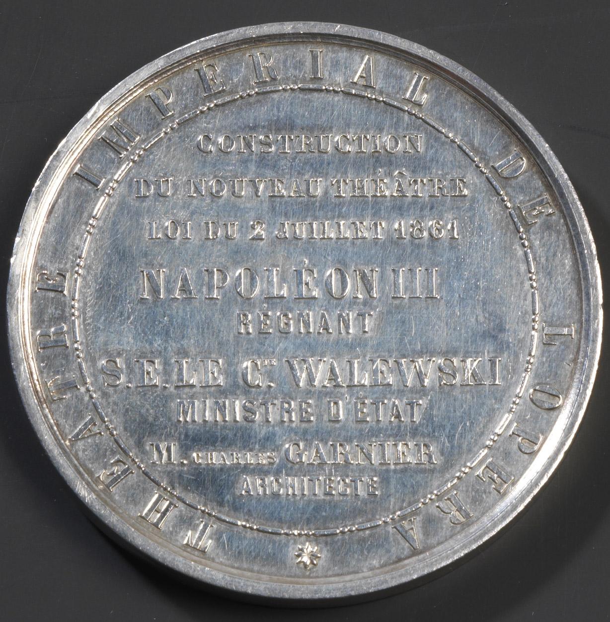 Médaille à l'effigie de Napoléon III - Patrimoine Charles-André COLONNA WALEWSKI, en ligne directe de Napoléon
