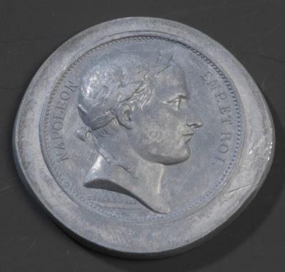 Médaille à l'effigie de Napoléon - Patrimoine Charles-André COLONNA WALEWSKI, en ligne directe de Napoléon