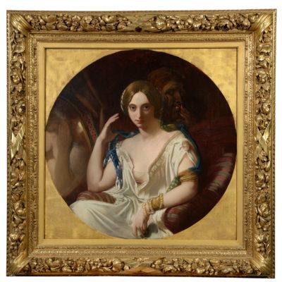 Portrait supposé de Rachel Felix - Patrimoine Charles-André COLONNA WALEWSKI