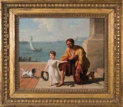 Allégorie de la libération des esclaves d'Alger par Jérôme Bonaparte