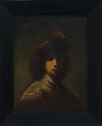 Autoportrait Rembrandt - Patrimoine Charles-André COLONNA WALEWSKI