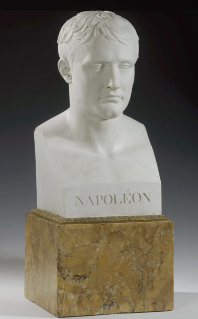 Buste de Napoléon en porcelaine de Sèvres - Patrimoine Charles-André COLONNA WALEWSKI, en ligne directe de Napoléon