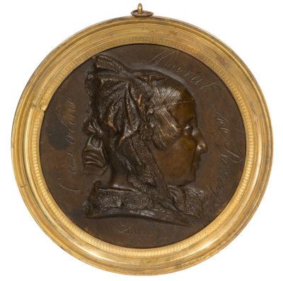 Caroline Murat née Bonaparte, 1838, David d'Angers