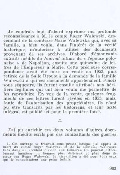"""Sources de """"Napoléon"""" d'André Castelot - Patrimoine Charles-André COLONNA WALEWSKI, en ligne directe de Napoléon"""