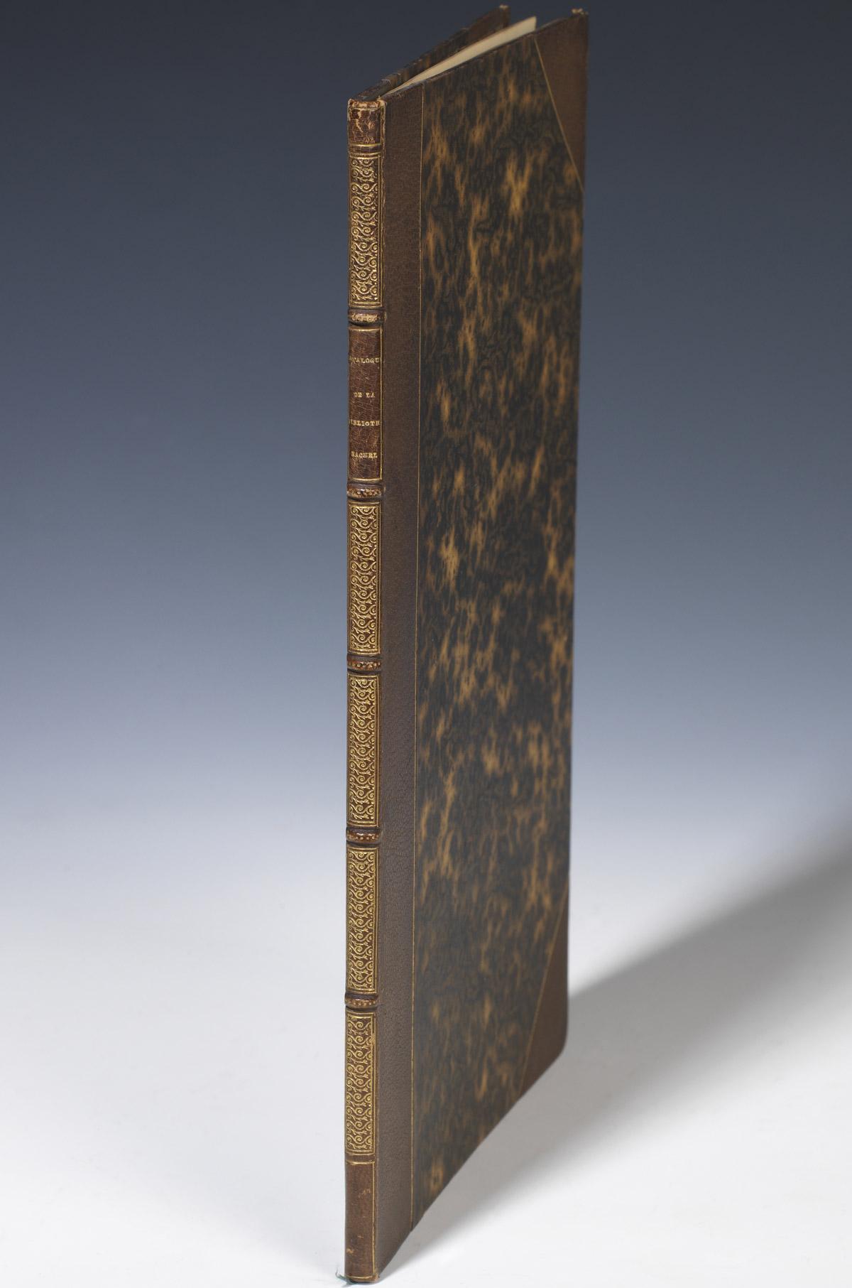Catalogue de la bibliothèque de Rachel - Patrimoine Charles-André COLONNA WALEWSKI, en ligne directe de Napoléon
