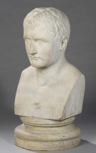 Buste de Napoléon par Christen - Patrimoine Charles-André COLONNA WALEWSKI, en ligne directe de Napoléon