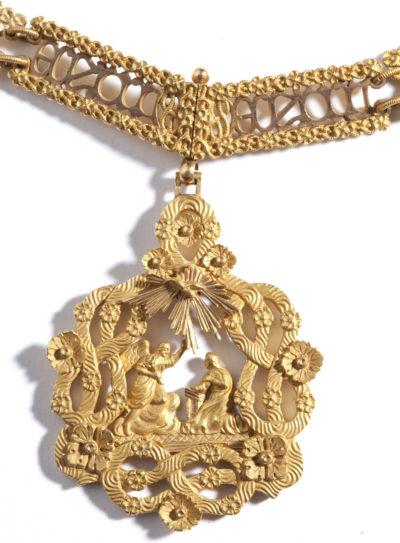 Collier de l'Ordre de l'Annonciade - Patrimoine Charles-André COLONNA WALEWSKI, en ligne directe de Napoléon
