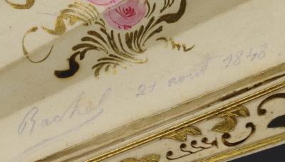 Eventail de Rachel - Patrimoine Charles-André COLONNA WALEWSKI, en ligne directe de Napoléon