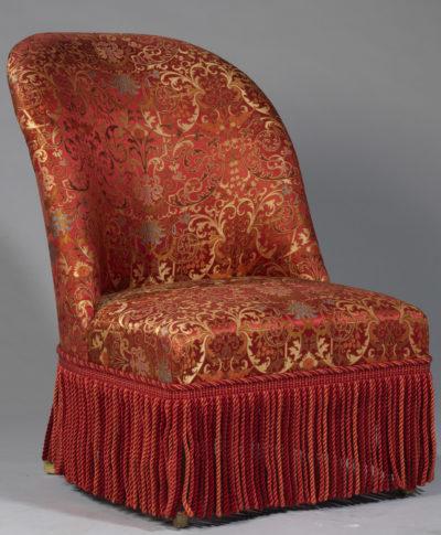 Fauteuil XIXe - Patrimoine Charles-André COLONNA WALEWSKI, en ligne directe de Napoléon