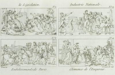 Fêtes à l'occasion du mariage de Napoléon et Marie-Louise - Patrimoine Charles-André COLONNA WALEWSKI, en ligne directe de Napoléon