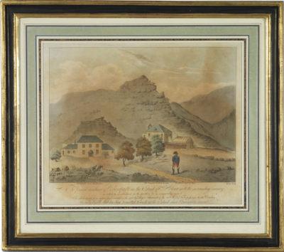 Dessin représentant Napoléon à Ste Hélène - Patrimoine Charles-André COLONNA WALEWSKI, en ligne directe de Napoléon