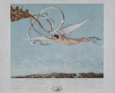 La Renommée planant au-dessus du Monde - Patrimoine Charles-André COLONNA WALEWSKI