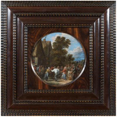La Ronde villageoise au son de la cornemuse - Patrimoine Charles-André COLONNA WALEWSKI, en ligne directe de Napoléon