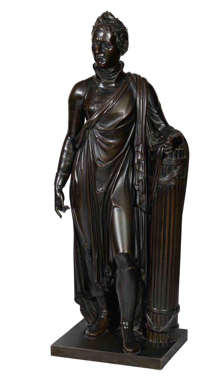 L'empereur Napoléon 1er bronze École française - Patrimoine Charles-André COLONNA WALEWSKI