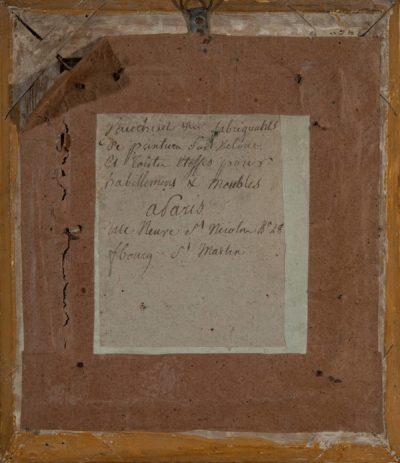 Manufacture de Vauchelet, portrait de Napoléon 1er