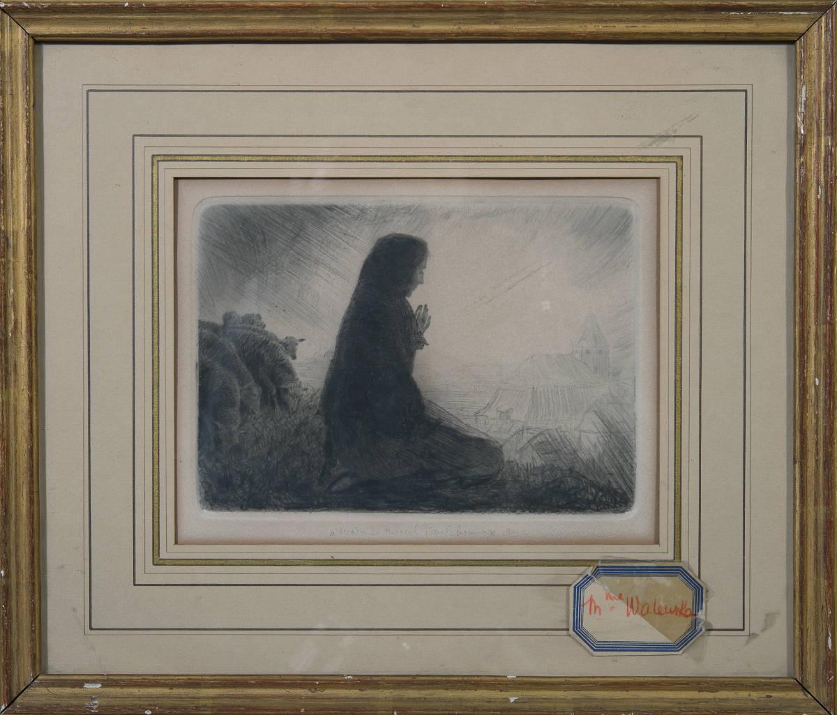 Madame Walewska par Emile Friant