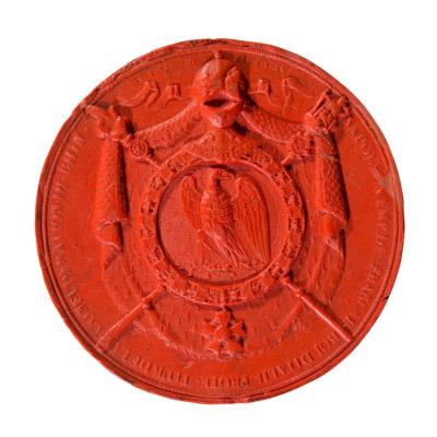Empreinte : Grand sceau des titres de Napoléon Ier