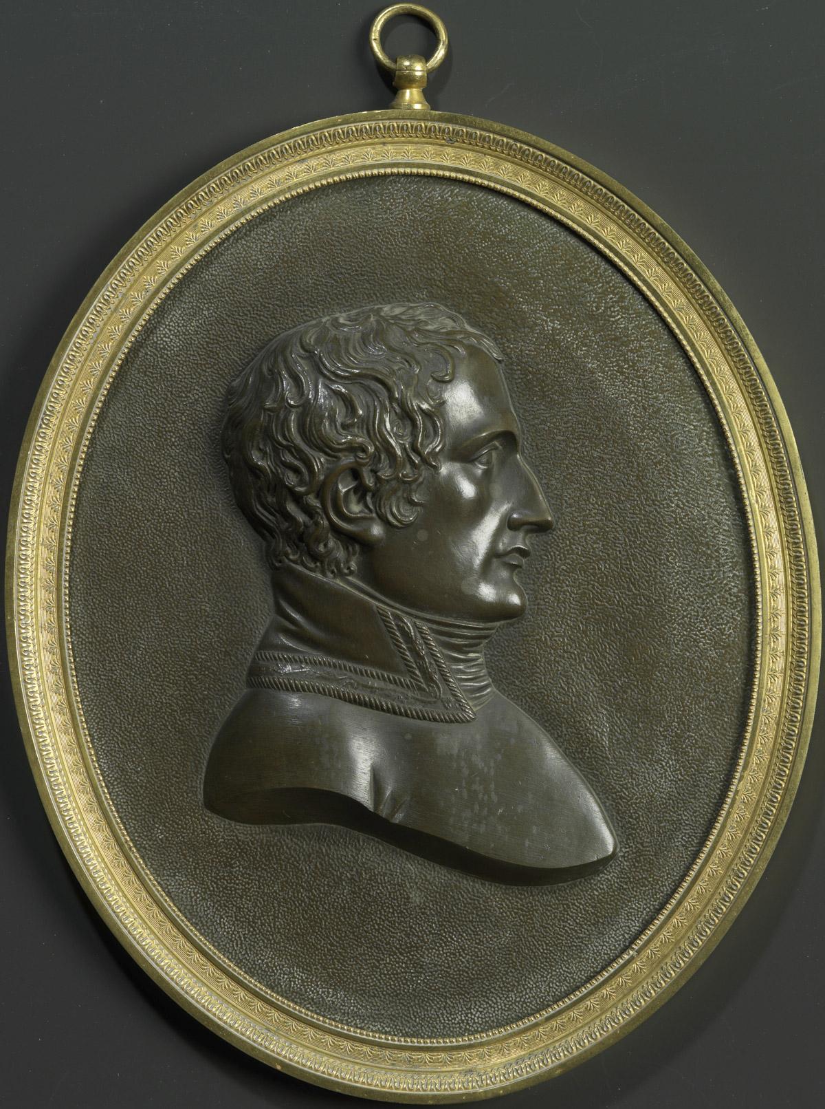 Profil de Bonaparte 1er Consul - Patrimoine Charles-André COLONNA WALEWSKI, en ligne directe de Napoléon