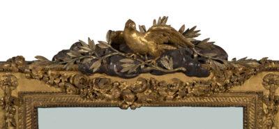 Miroir rectangulaire, décor Louis XVI - Patrimoine Charles-André COLONNA WALEWSKI