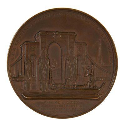 Médaille, Passage à Rouen des restes mortels de Napoléon Ier