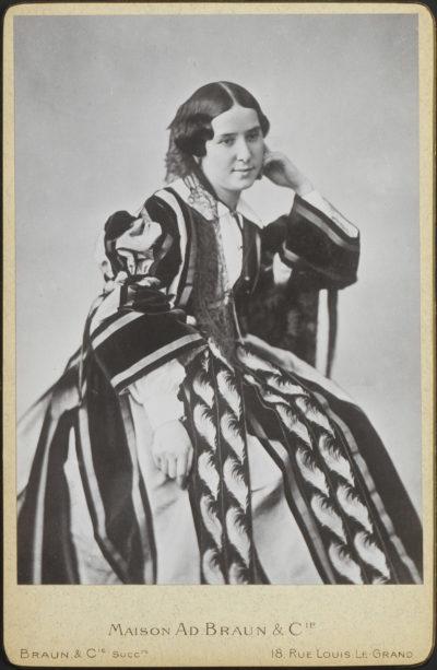 Photographie : Le dernier portrait de Rachel - Patrimoine Charles-André COLONNA WALEWSKI, en ligne directe de Napoléon